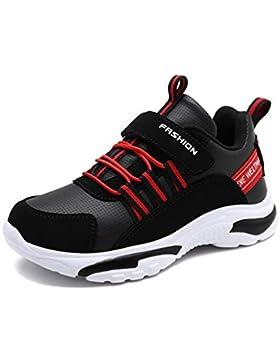 mogeek Zapatillas de Running para Niños Zapatos al Aire Libre Zapatilla de Deporte de Moda