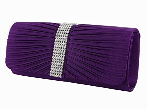 fi9®, Poschette giorno donna Multicolore Multicolore Multicolore (viola)