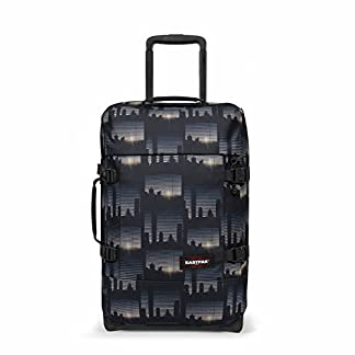 Eastpak TRANVERZ S Equipaje de Mano, 51 cm, 42 Liters, Multicolor (Upper East Stripe)