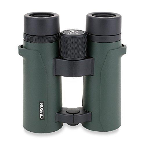 Carson Baureihe RD 8x42mm vollwertiges Fernglas mit Doppelsteg, wasserdicht und mit extrem hoher Auflösung