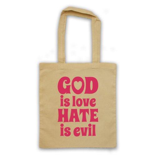 God Is Love Hate è Evil-Borsa, motivo: aforismi [lingua inglese] natur