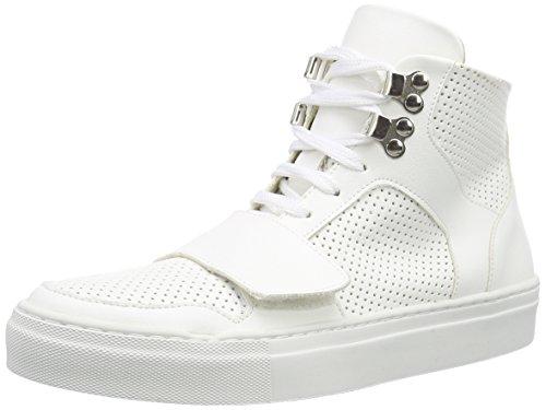 Jonny`s Vegan Shima, Baskets Basses femme Blanc - Weiß (blanco)