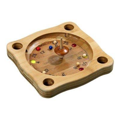 Klassik Games Tiroler Roulette - grob - bambus
