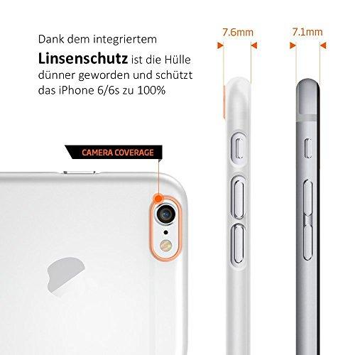 iPhone 6S Plus 6 Plus Hülle Silikon Case durchsichtig transparent Clear TPU Schutzhülle iPhone6 Plus iPhone6s Plus - TheSmartGuard Transparent