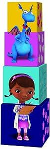 Diset Disney - Doctora Juguetes, Cubos apilables 46255