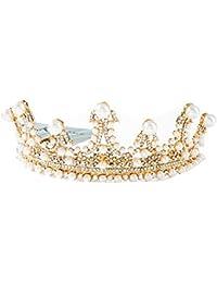 9f35d2774b2d auvwxyz Tiaras Tiara Nupcial Corona De Boda Vestido De Novia Accesorios  para El Cabello Accesorios De