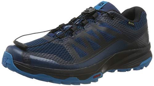 Salomon XA Discovery GTX, Zapatillas de Trail Running para Hombre, Azul (Poseidon/Black/Fjord Blue), 44 2/3 EU