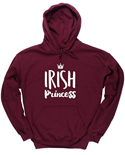 hippowarehouse-irish-princess-unisex-hoodie-hooded-top