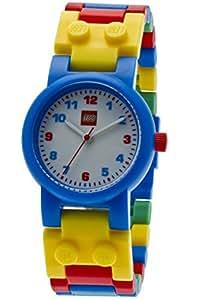 Lego - Orologio da polso, analogico al quarzo, plastica