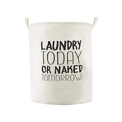 Selou Wasserdichter Vorratseimer Bettwäsche zum Waschen von Kleidung Wäschekorb Aufbewahrungskorb Falttasche aus Stoff Großer Korb Aufbewahrungsbox Kosmetiktasche
