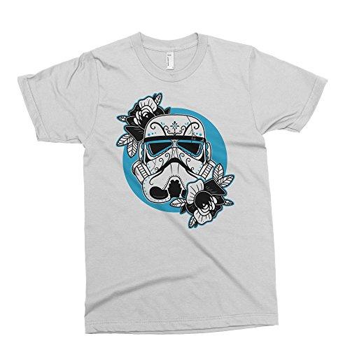 joj Herren T-Shirt schwarz weiß Large Gr. XXL, weiß (Free Herren T-shirt Ship Xxl)