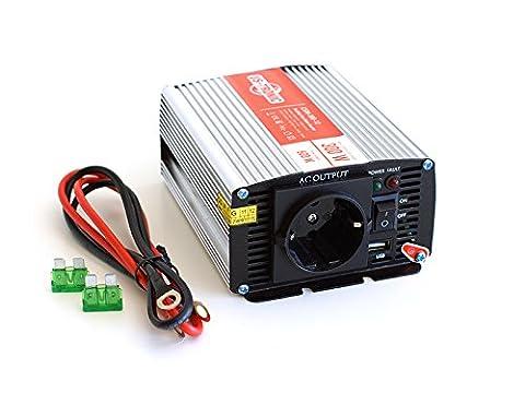Convertisseur 12v 220v 300w - Convertisseur US-TRONIC 12v 220v 300 watts +