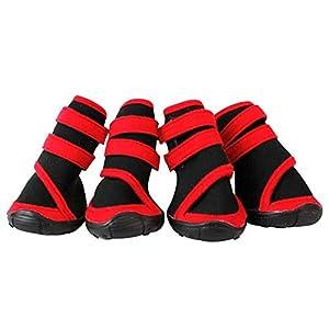 SAMGU Bottes De Protection Pour Chien Chaussons Chaussures Animal Pet Chaussures