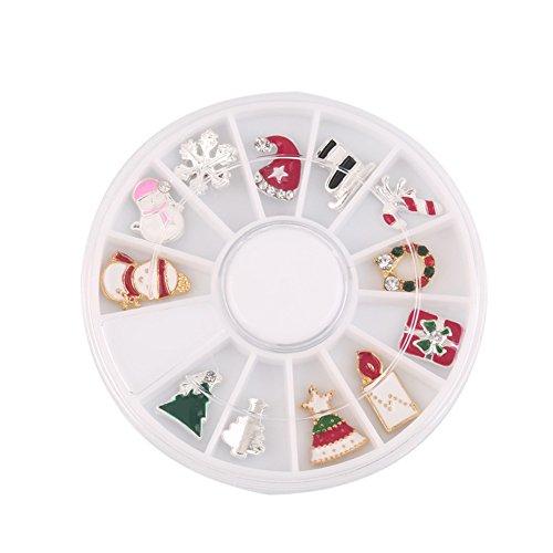 r Nägel Dekorationen für Weihnachten 1 Satz (Weihnachten Nail Decals)