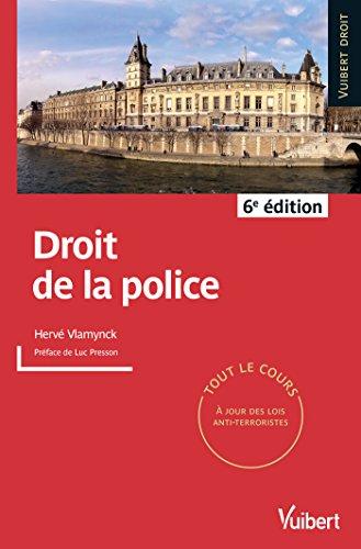Droit de la police par Hervé Vlamynck
