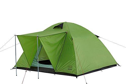 Grand Canyon Phoenix M - Kuppel-/ Igluzelt, 3 Personen, für Trekking, Camping, Outdoor, Festival, grün, 302034