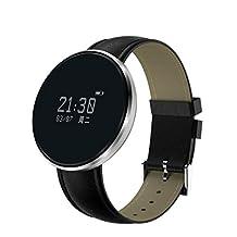 Bluetooth pulsera inteligente CF006 banda presión arterial monitor de frecuencia cardíaca fitness pulsera podómetro Smartband para teléfono Android , B1