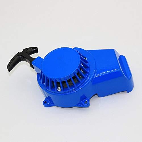 HermosaUKnight 47 49CC Mini Motorcycle Hand Puller Aluminium Schale Aluminium Kern Griff Blau