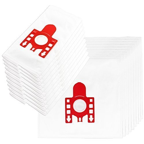 (Pack x 20) FIRST4SPARES Replacement Dust Bags For MIELE FJM Series S6210. S6220. S6240. S6290. S6730 & S4812 Vacuum Cleaners. Synthetic Cloth Microfibre DUST BAGS & FILTERS.