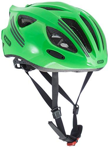 Abus S-Cension Fahrradhelm, Neon Green, M (54-58 cm) - Neon Green Velvet