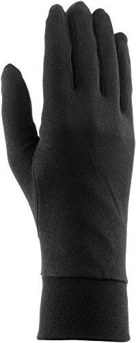 Roeckl Silk Seiden Fahrrad Unterziehhandschuhe / Handschuhe schwarz 2017: Größe: M (8)