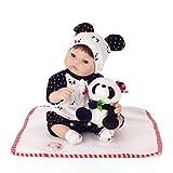 Style chinois vinyle silicone poupée semi-renaissance reborn doux bébé 40 cm bouche magnétique garçon réaliste jouet fille endormi bébé poupée renaissance