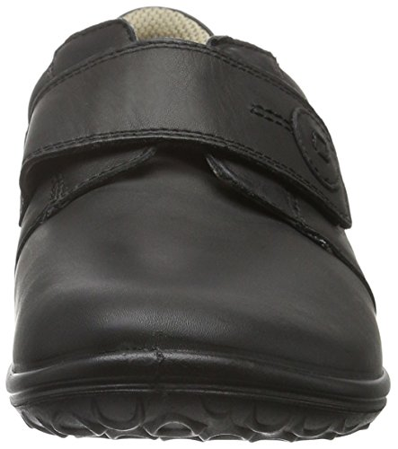 Jomos 854309 - Scarpe Allegra con Chiusura Velcro da Donna Nero (15-000 Schwarz)
