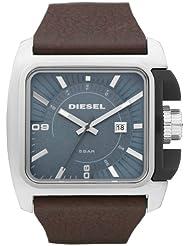 Diesel Herren-Armbanduhr Analog Quarz Leder DZ1542