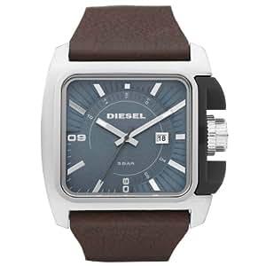 diesel dz1542 montre homme quartz analogique aiguilles lumineuses bracelet cuir marron. Black Bedroom Furniture Sets. Home Design Ideas