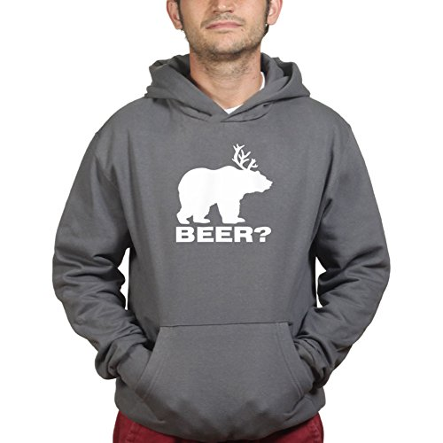 Deer Bear Beer Moose Elk Hunting Funny Kapuzenpullover