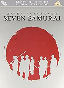 Seven Samurai (Steelbook) [Blu-ray] [DVD] [1954]