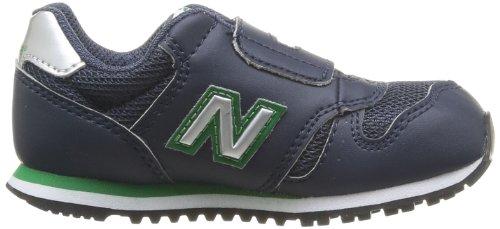 New Balance, NBKV373NAIM12, Scarpe per bambini, Unisex - Bambino Navy/Green