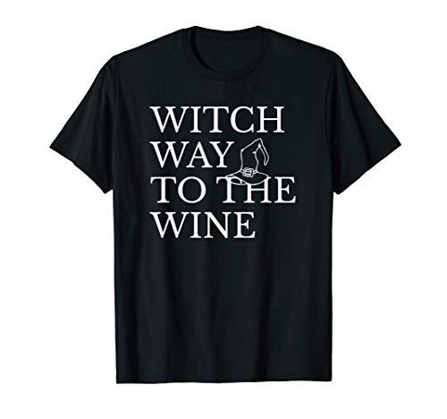 Halloween Hexenkostüm in Weiß T-Shirt ()