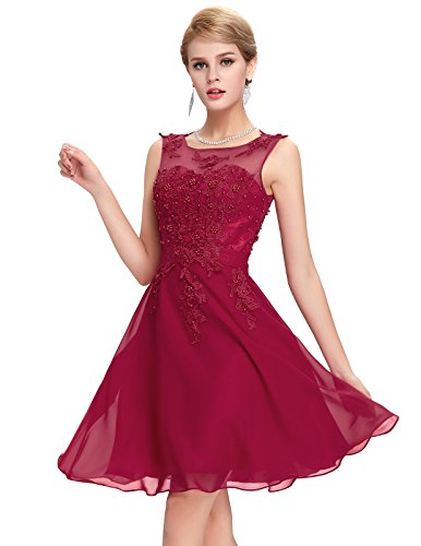 Damen Evening Kleid Swing Kleid Festliches Kleid 36 GK063-2
