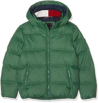 65d3256c8 Tommy Hilfiger Boy s Essential Basic Down Jacket  Amazon.co.uk  Clothing