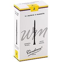 Vandoren Blätter B-Klarinette Deutsch 2,0 White Master