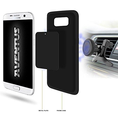 Aventus Huawei Honor 7i / Shot X Universal-360 ° Magnetic Air Vent Halterung Auto-Handy-Halter-Aufnahmevorrichtung (Shot-tasche-ständer)