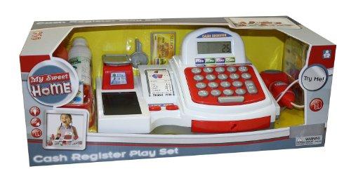 Preisvergleich Produktbild My Sweet Home 8016275N - Kinderregistrierkasse mit Licht, Sound und Zubehör