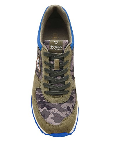 Guess Blue Sneakers Print