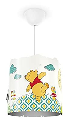 Philips 717513416 Disney Winnie l'Ourson Suspension Luminaire pour Enfant E27 230 V