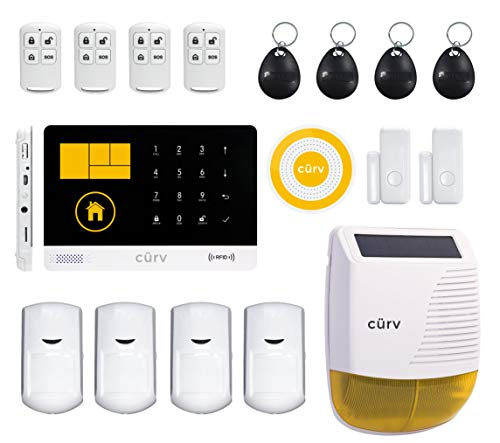 cürv Wireless Home Security Smar...