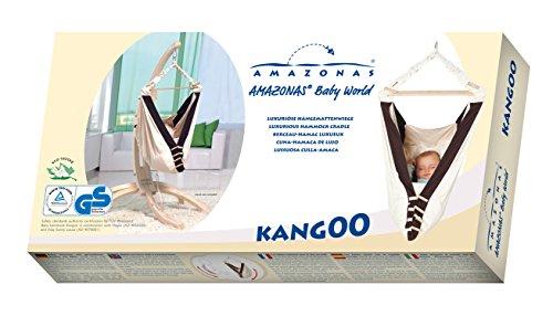 AMAZONAS Baby Hängematte Kangoo 70cm x 40cm bis 15 kg in Weiß - 18
