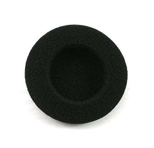 JNTworld Ersatz-Ohrpolster Ohr-Pad Ohr Kissen Kopfhörer-Abdeckung für die meisten professionellen über Ohr Kopfhörer-passt eine Vielzahl von Kopfhörern,Schwarz,50mm-5prs -