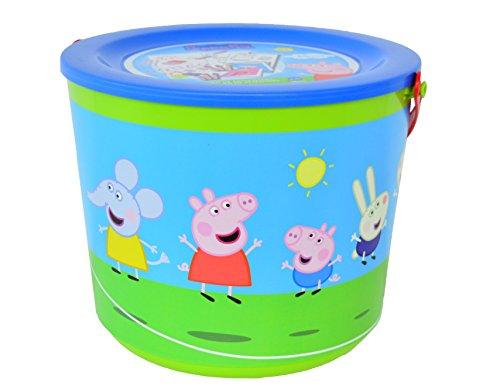 Peppa Pig Peppa Pig-40231 Cubo de Actividades (Cife Spain 40231