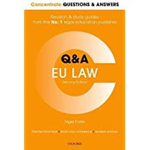 Concentrate Q&A Eu Law 2e: Law Revision and Study Guide (Concentrate Law Questions and Answers)