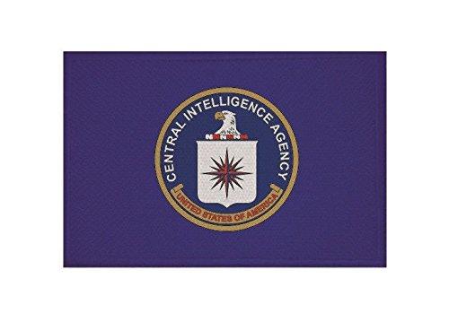 Cia-patch (U24 Aufnäher CIA Fahne Flagge Aufbügler Patch 9 x 6 cm)