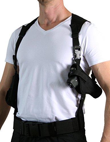 PRODEF® Schulterholster mit 2-Fach Kartuschenhalter für PIEXON Jet Protector JPX -