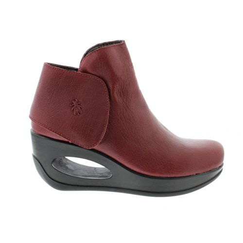 Hogi London Rot Boots Fly Womens Mousse Leather 925 gxUwZZ7EOq