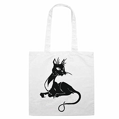 Tasche Umhängetasche Motiv Nr. 14005 Katze Cat Hauskatze Baby Vier Pfoten Rassekatze Einkaufstasche Schulbeutel Turnbeut