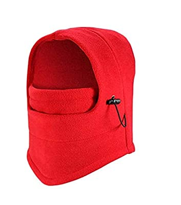 DSYJ Windproof Face Mask Cover Caps Winter Warm Face Cover Neck Warmer Ski Hat Winter Outdoor Ski Mask Headcover 1 : everything 5 pounds (or less!)